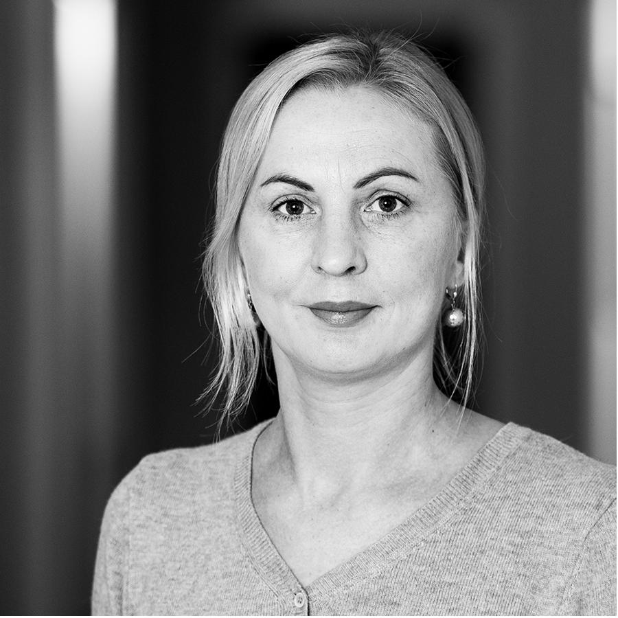 Portrett av Sandra Jurkeviciene ansatt hos Eiker Vekst